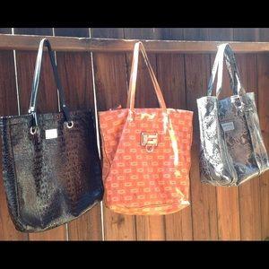 Nine West & Guess 3 For 1 Large Handbag Grab